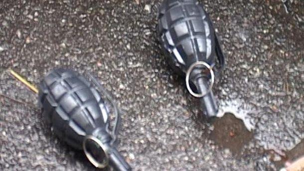 В Киеве задержали несовершеннолетнего с гранатами и пистолетами, который ехал на Майдан.