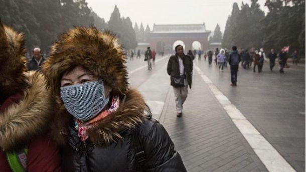 УПекіні забруднення повітря досягло критичної позначки