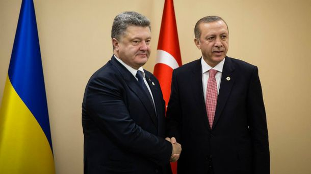 Петр Порошенко, Реджеп Эрдоган