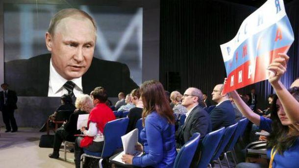 Путін незбирається вводити санкції проти України