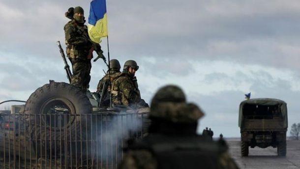 НаЛуганщині бойовики накрили вогнем з«Градів» українських військових