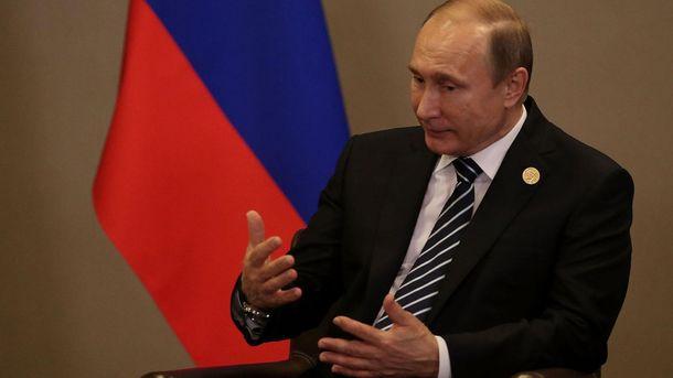 Путін здивований, чому Росії ніхто не вірить