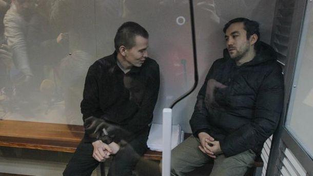 ГРУшників Єрофєєва і Александрова залишили під вартою до20 лютого