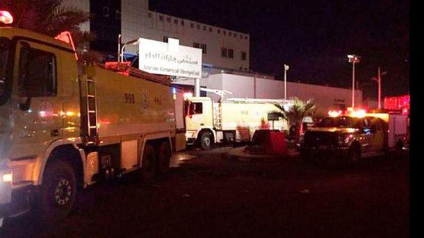 У лікарні вСаудівській Аравії згоріли 25 осіб