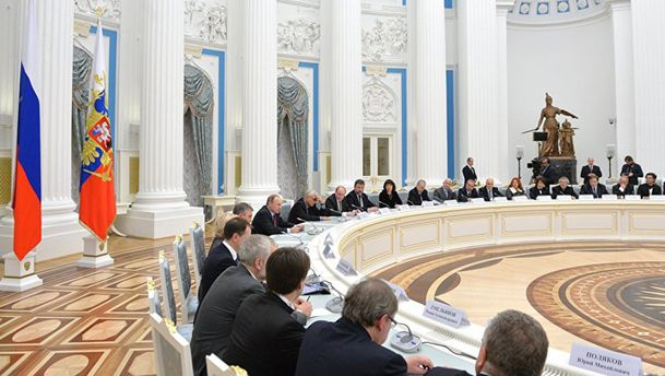 Президентська рада з культури і мистецтва за участю Путіна