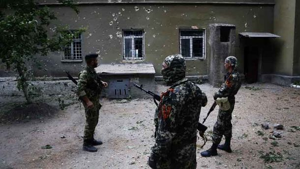 Штаб АТО: ДоКомінтернового з'їхалися ватажки бойовиків