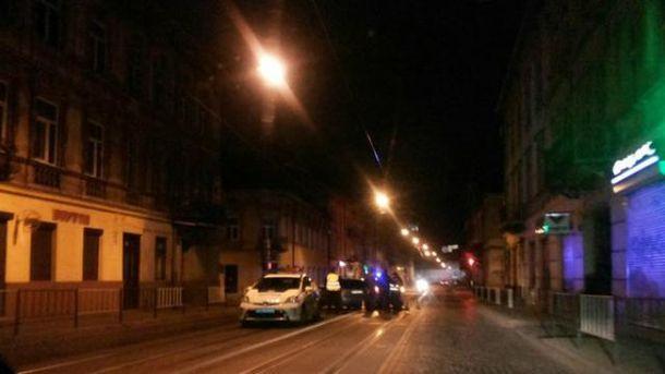 Полиция попала в ДТП