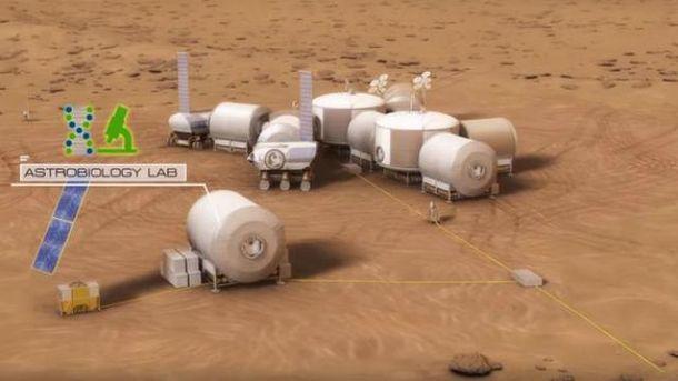 Первая колония на Марсе