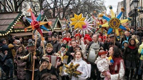 Українці святкують Різдво