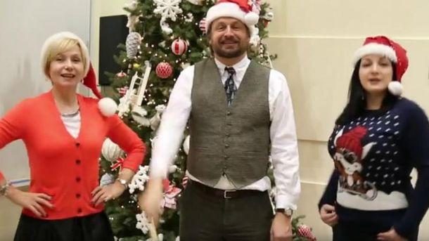 У посольстві США заспівали Jingle Bells
