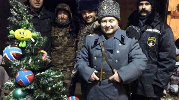 Новий рік у Донецьку