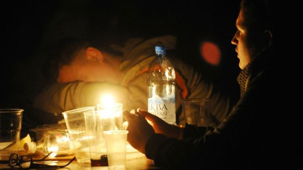Крым  без света