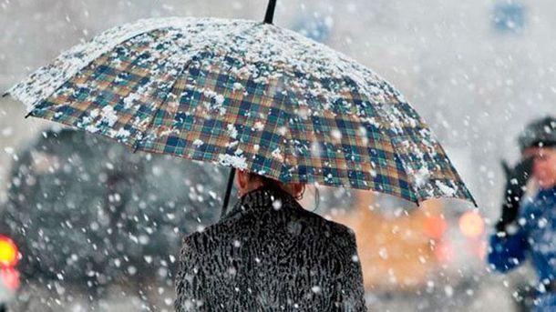 В Україні штормове попередження