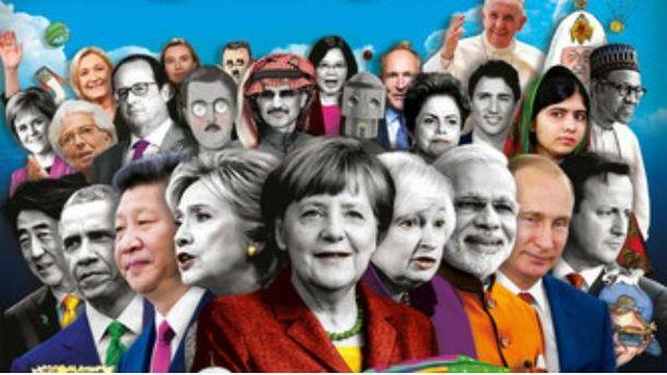 Обкладинка журналу The Economist