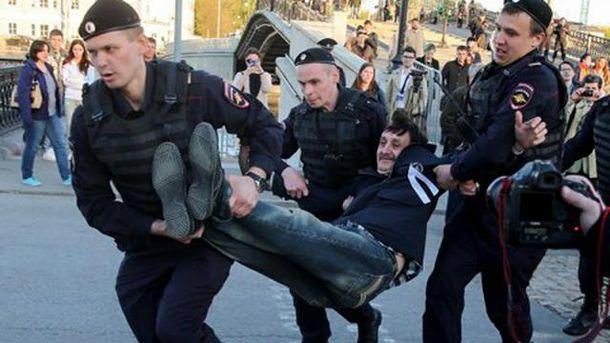 Затримання на Болотній площі у Москві