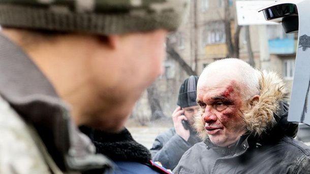 Уцентрі Запоріжжя спіймали чоловіка знаркотиками і прапором «Новоросії»