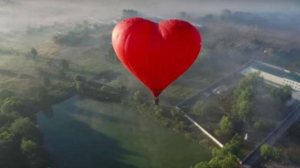Україна з висоти пташиного польоту: дивовижне відео