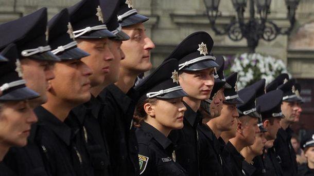 Львовские полицейские