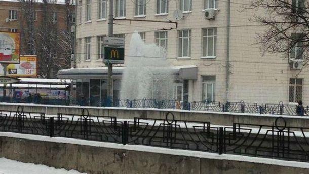 Фонтан в Києві