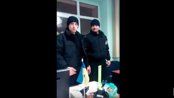 Поліцейські колядники