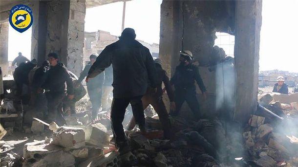 УСирії авіаціяРФ завдала авіаударів по в'язниці, 70 загиблих