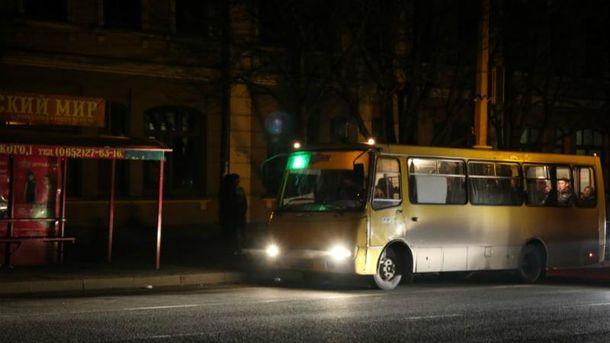 Крым в темноте