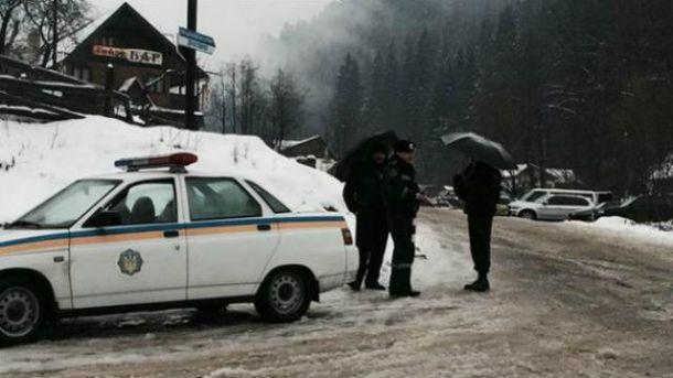 Полиция Закарпатья