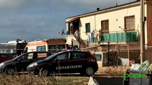 На месте кровавого события недалеко от Неаполя
