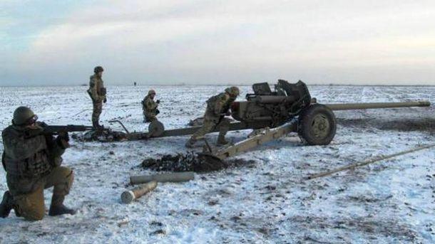 Заминулу добу бойовики 29 разів обстріляли позиції сил АТО