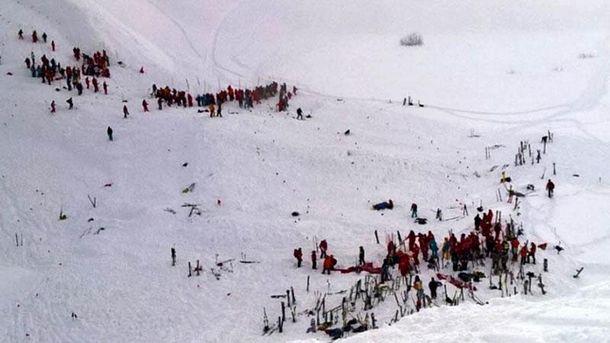 Лавина накрыла школьников в Альпах: есть жертвы