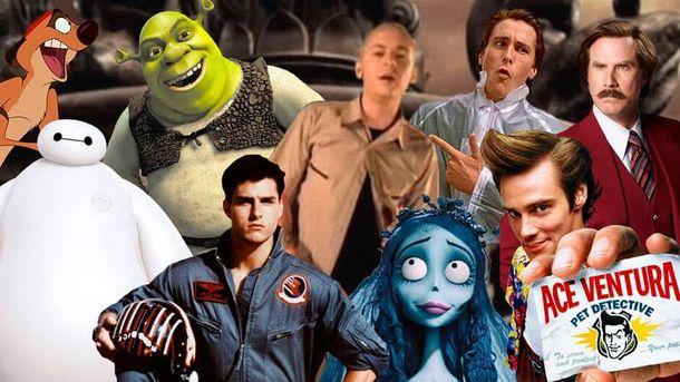 Герои фильмов спели