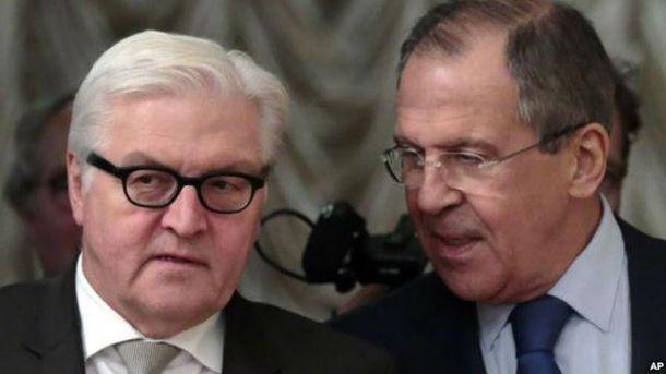 Штайнмаєр і Лавров