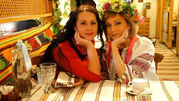 Инна Егорова и Татьяна Буланова