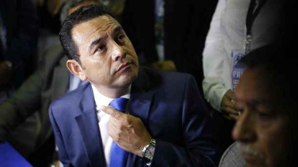 Комедійний актор Джиммі Моралес став президентом Гватемали