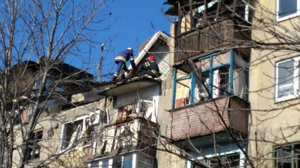 Вибух в будинку Українська