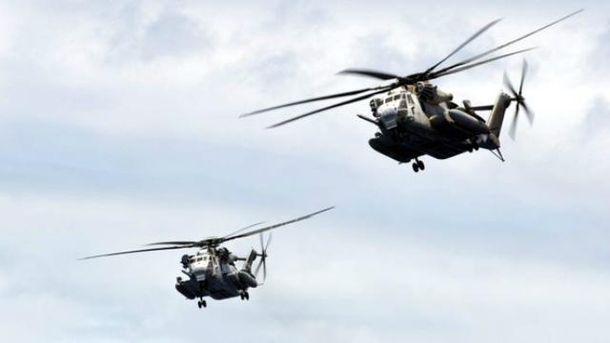 НаГаваях зіткнулися два військові вертольоти США, 12 осіб пропали безвісти