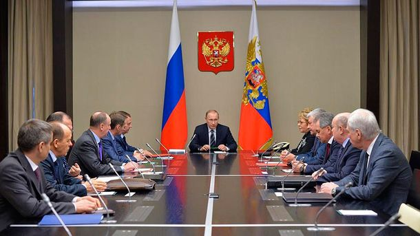 Путін скликав Радбез