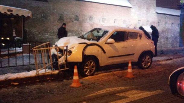 Авария во Львове