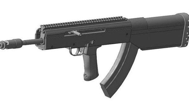 Новая разработка винтовки