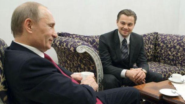Путін і Ді Капріо