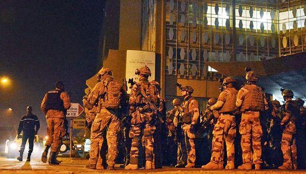 Силы службы безопасности в Буркина-Фасо