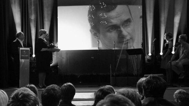 Чеська кіноспілка нагородила Олега Сенцова