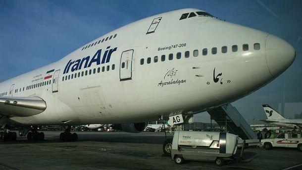 Самолет Iran Air
