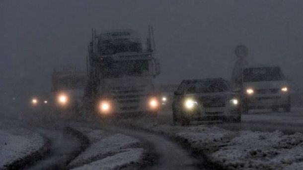 Заметені снігом дороги