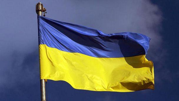 В окупованому Первомайську на кілька годин вивісили прапор України