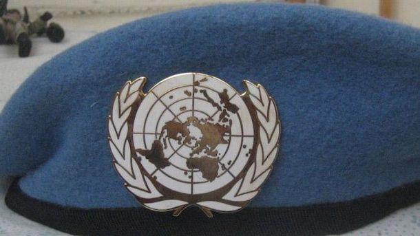 Голубой берет миротворцев ООН