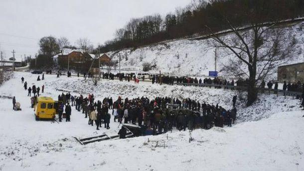 Украинцы празднуют Крещение
