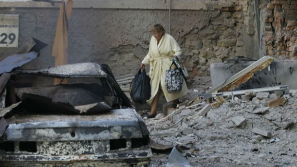 Зруйнований Донбас