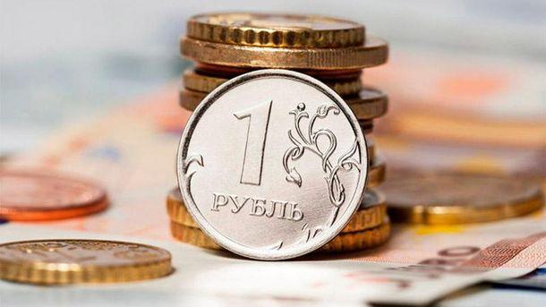Рубль  б'є антирекорди