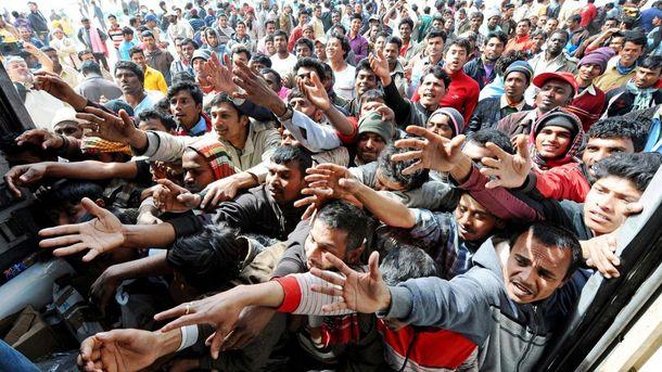 Біженці з Близького Сходу